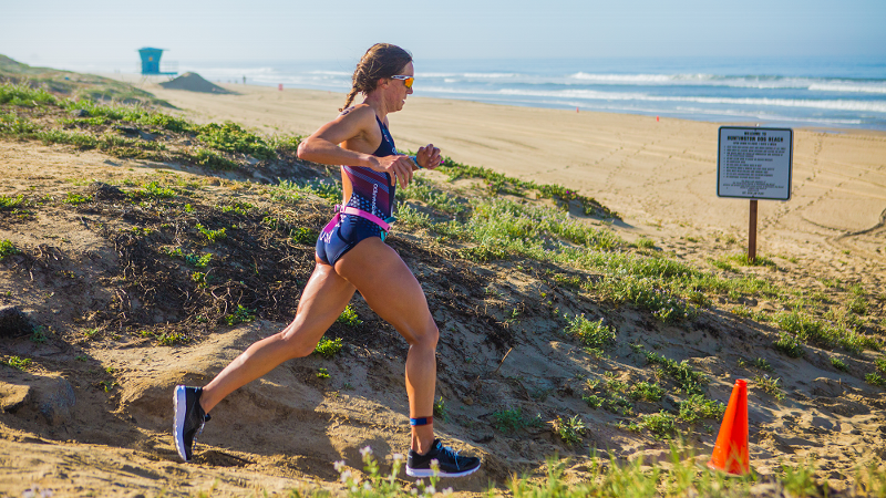 Sophie Chase found out about the triathlon college recruitment program her senior year at Stanford.  Though she'd competed in swimming and running, cycling was new to her.