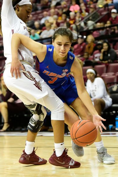 Aussie native Funda Nakkasoglu has relished playing at the highest level in the SEC.