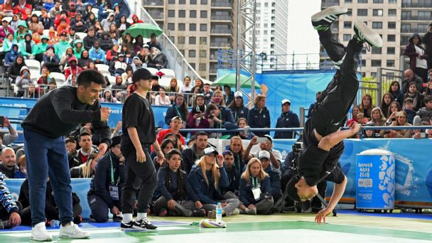 Breakdancing was included at the 2018 Youth Olympic Games in Buenos Aires.