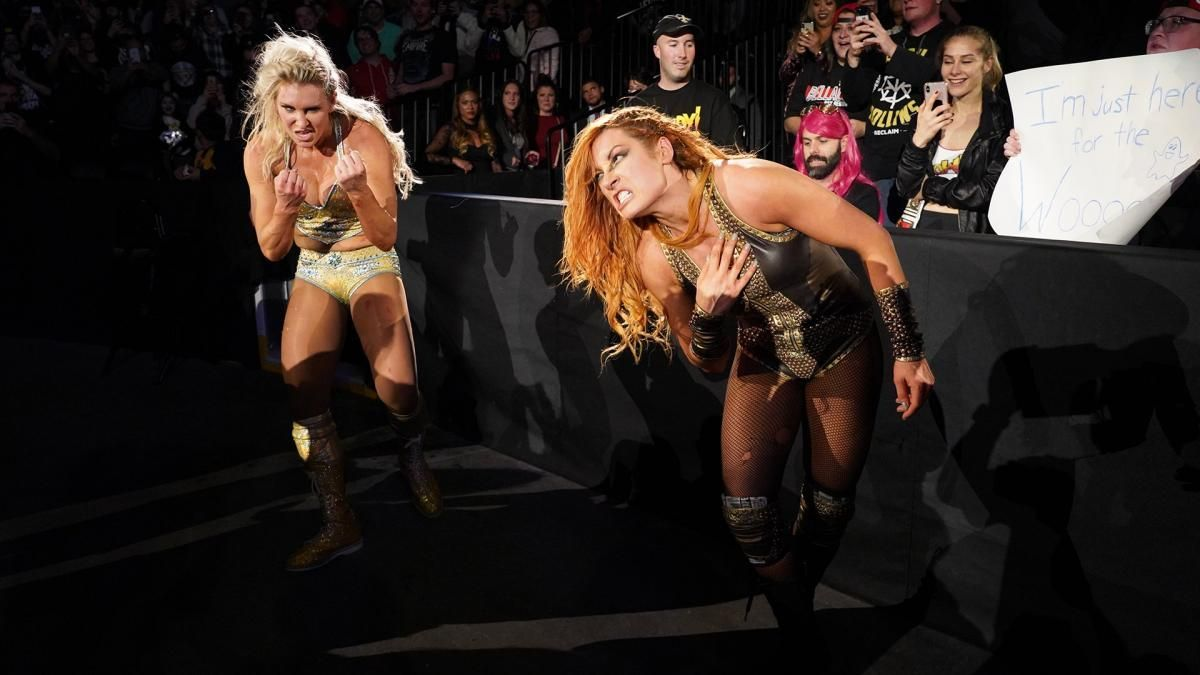 Becky Lynch, Charlotte Flair, Last Woman Standing at WWE Evolution