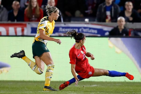 Alex Morgan joined Abby Wambach, Mia Hamm, Kristine Lilly, Michelle Akers, Carli Lloyd and Tiffeny Milbrett as the only U.S. women with 100 career goals in international play.