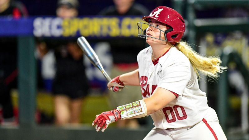 Sooners earn top seed in NCAA softball tourney