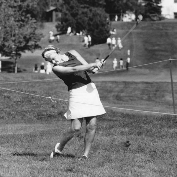Carner at the 1968 Women's Amateur Championship -- which she won.