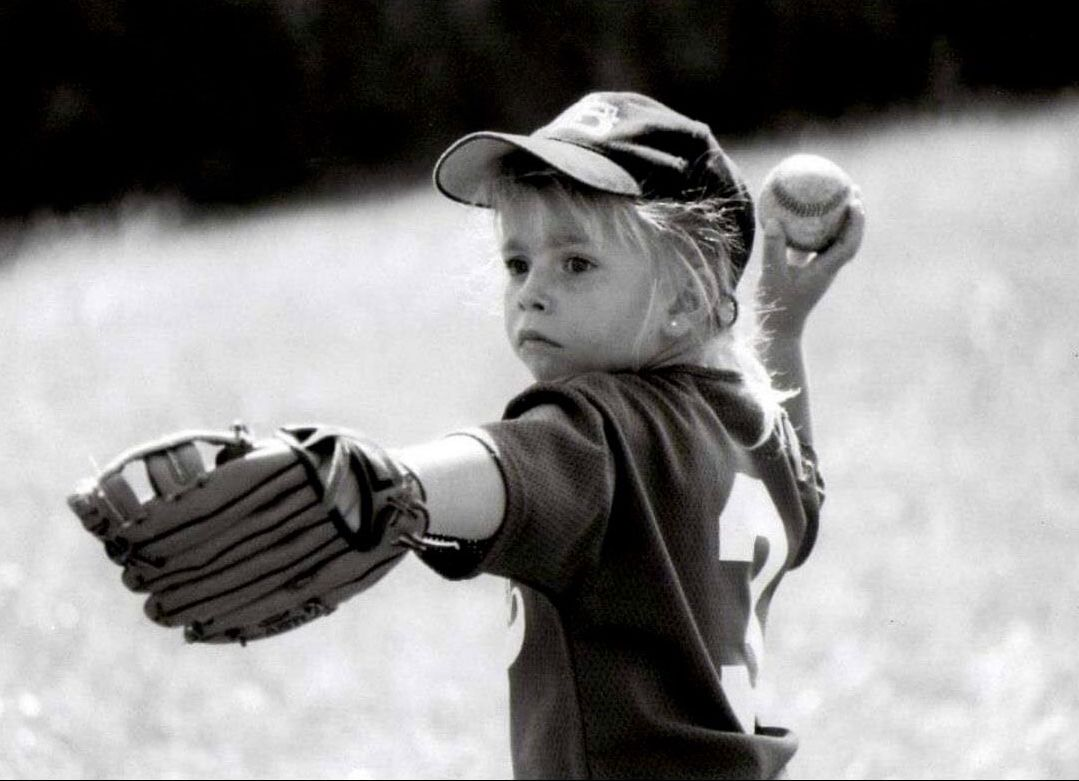 Since she was a toddler, all Melissa Mayeux has wanted to do was play baseball. She might be playing softball for now, but her dream remains the same.