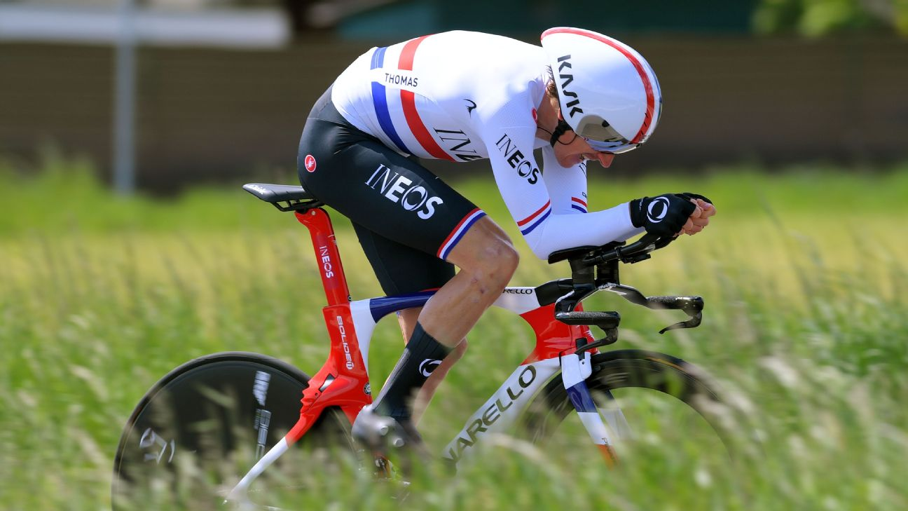 Geraint Thomas, one of the favorites to win this year's Tour de France, will see stiff competition from his own teammates.