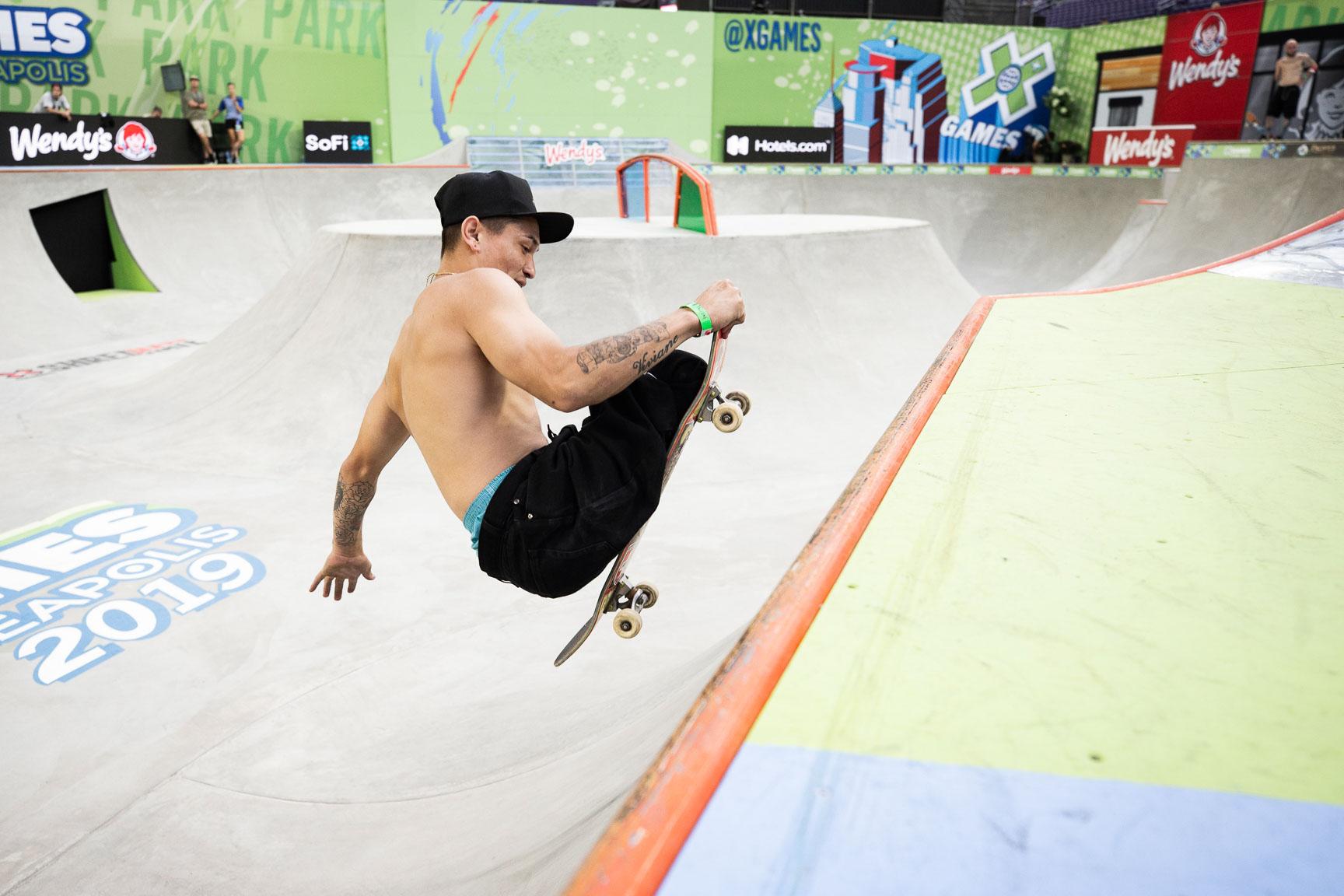 Felipe Nunes, Adaptive Skateboard Park
