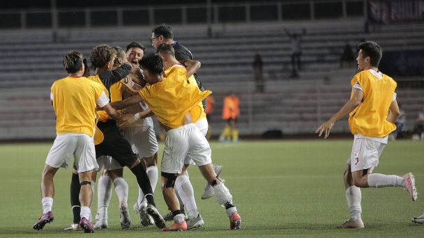 The Azkals repeated a similar 1991 victory over the same country at the same venue in the same tournament.