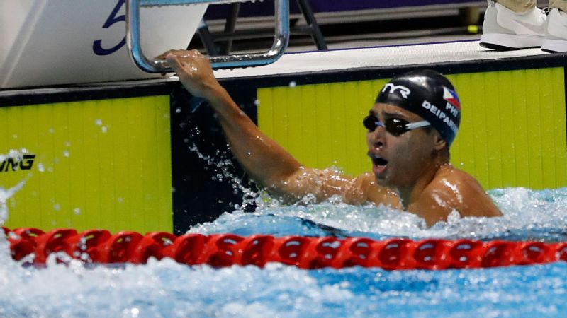 Thanks to James Deiparine, the Philippines broke a 10-year gold medal drought in swimming.
