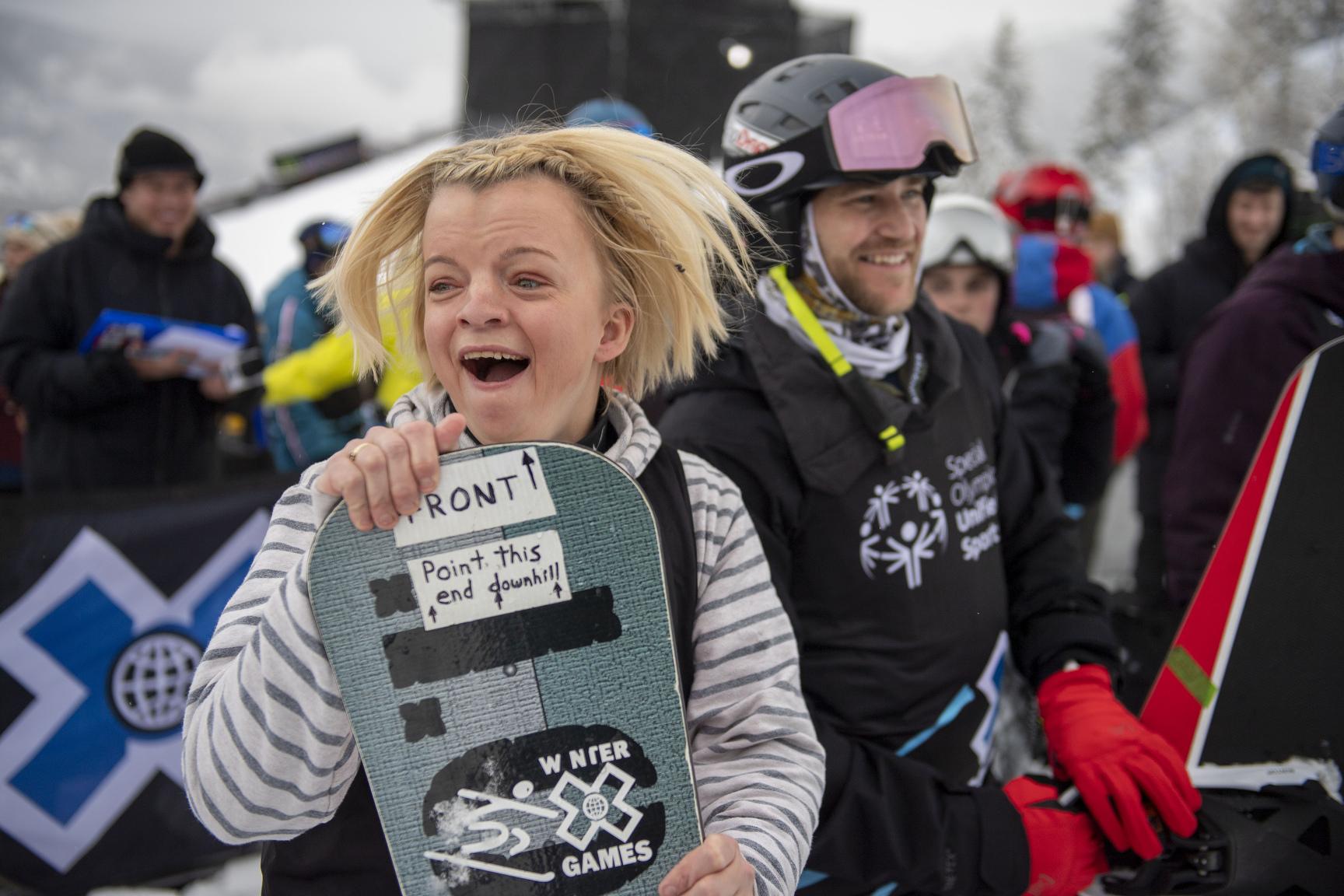 Daina Shilts, Special Olympics Unified Snowboarding
