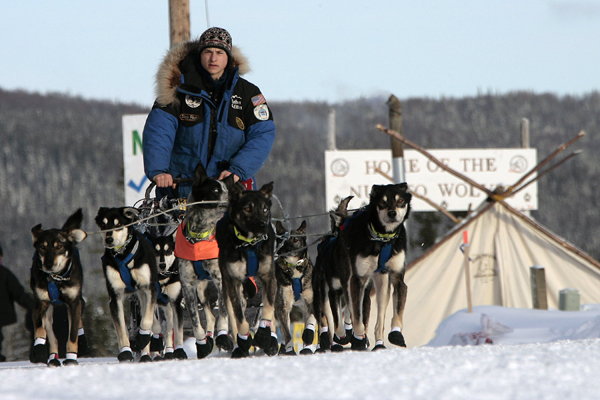The world's most famous sled dog race has lost a major backer, and Alaska race officials are blaming animal rights organizations for pressuring corporate sponsors.