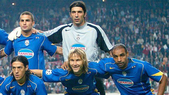 Gigi Buffon, en el recuerdo de Camoranesi