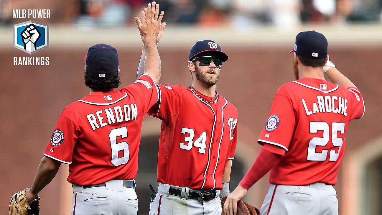 Power Rankings de MLB  Cachorros siguen sólidos y Nacionales al acecho f783d6e5f19