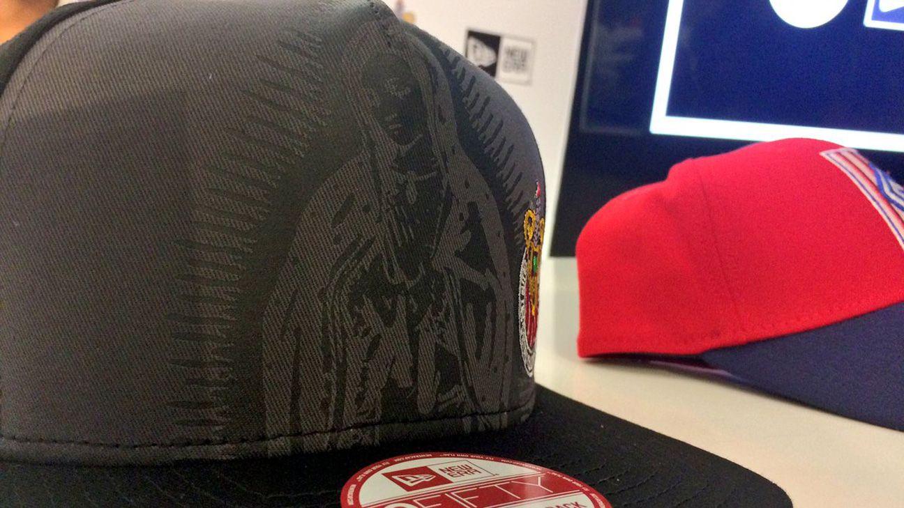 Chivas lanza nueva línea de gorras que incluye a La Virgen 1e4e912a83c