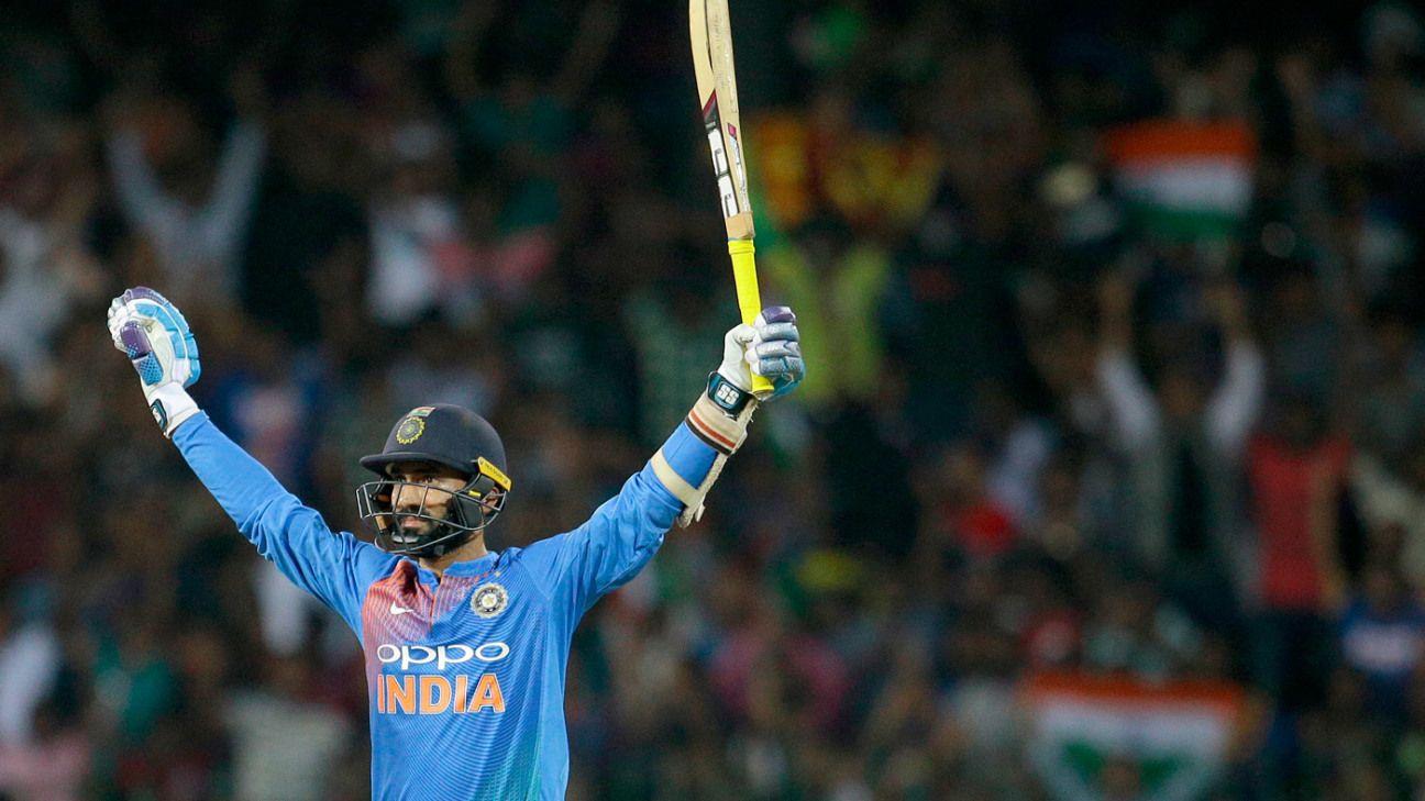 Restless rookie to calm finisher: Dinesh Karthik's evolution