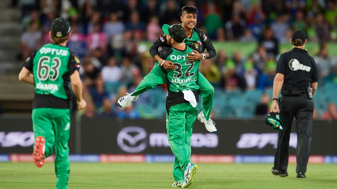 Sandeep Lamichhane returns to Melbourne Stars for entire BBL season
