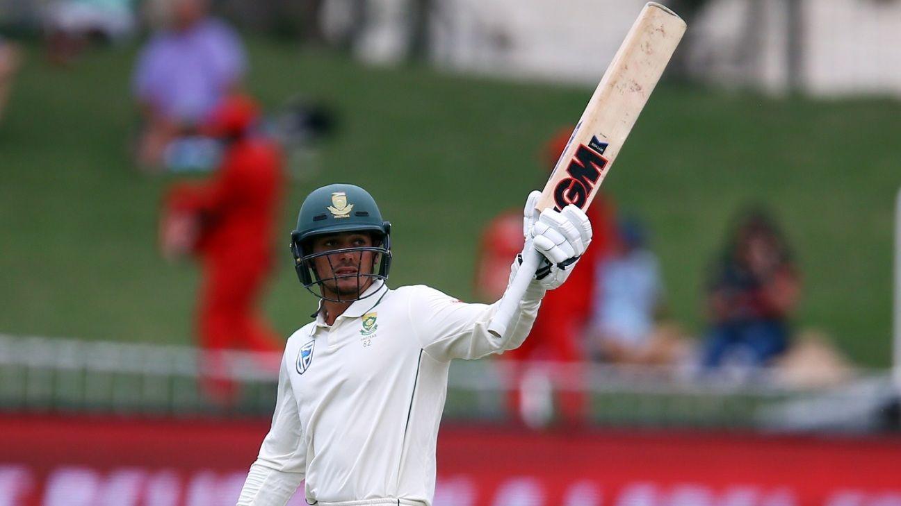 De Kock rises above South Africa's besieged batsmen