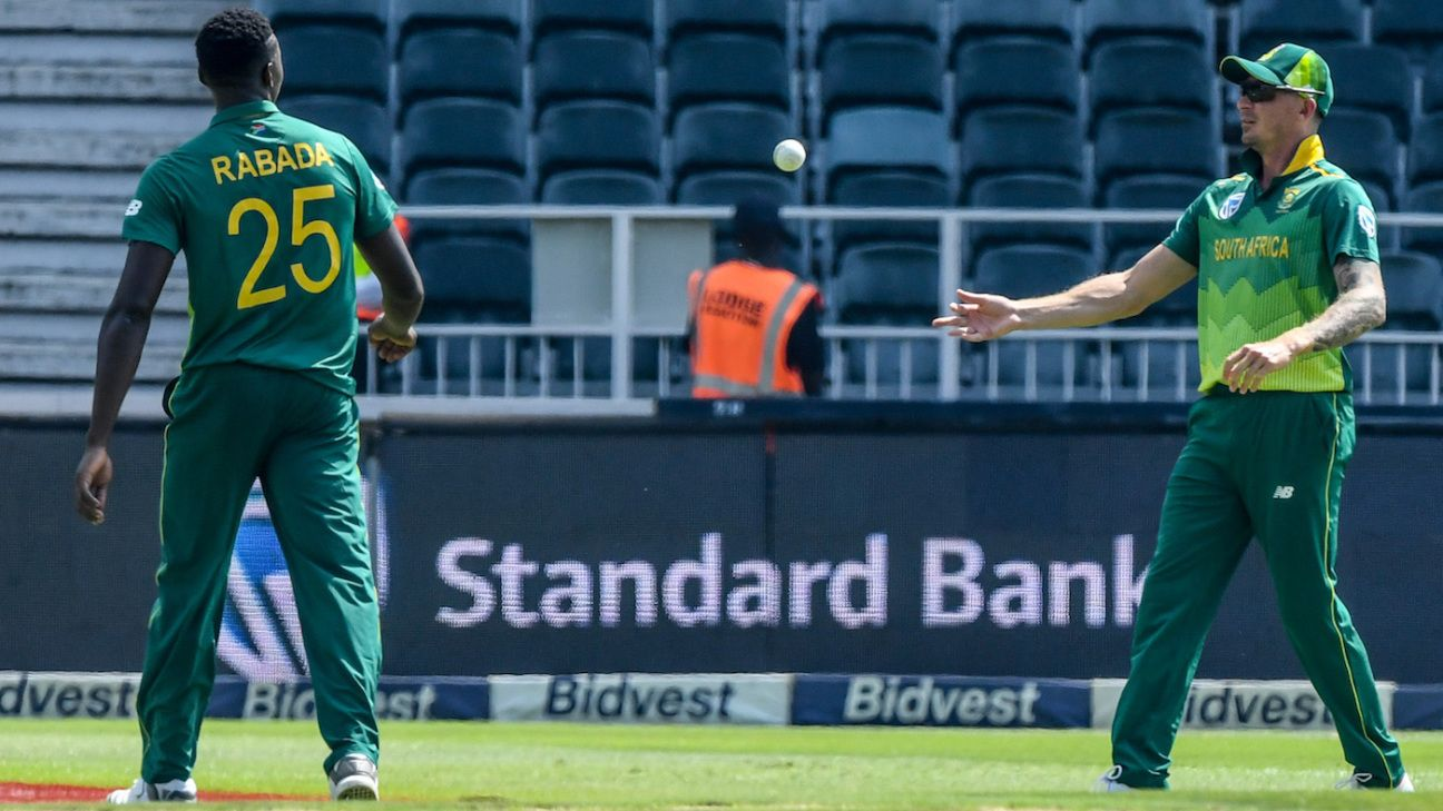 Rabada, Steyn 'on track' to play World Cup opener against England