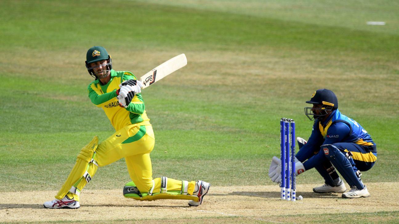 Live report - Australia v Sri Lanka