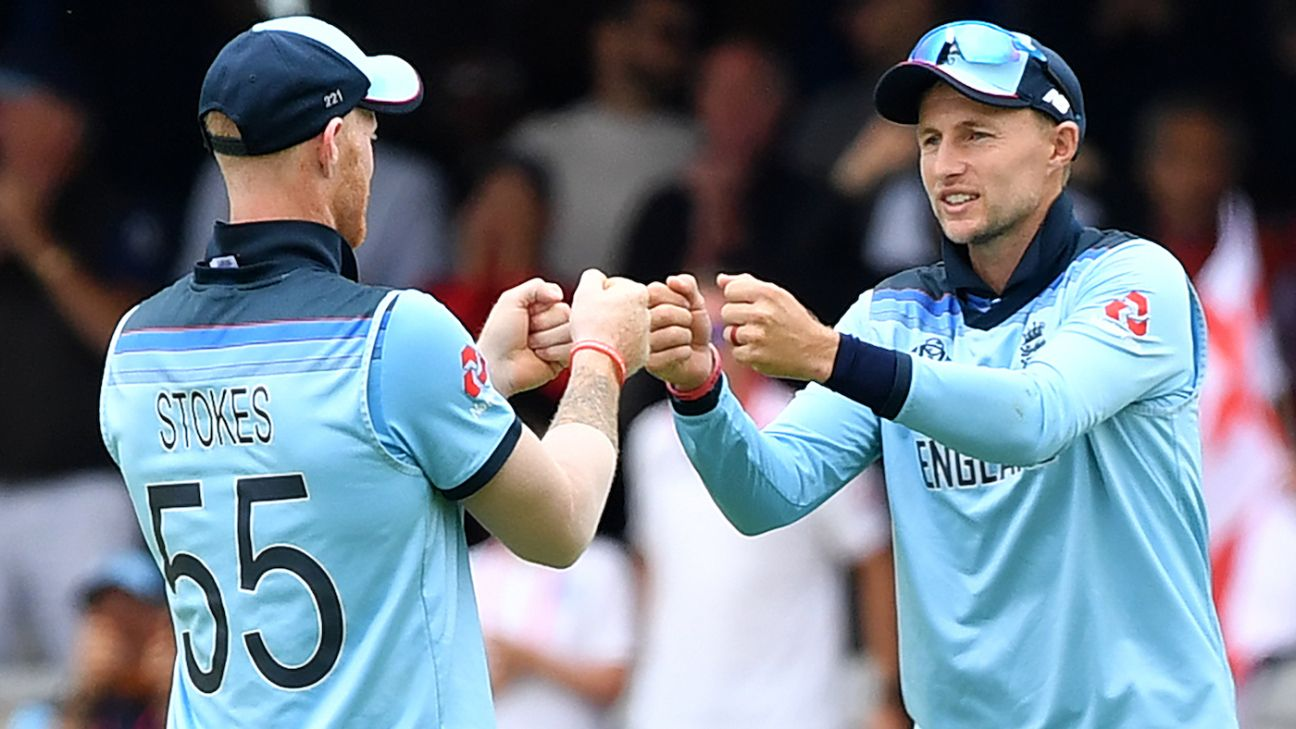 World Cup over, England's cricketers to head for Ashes training camp