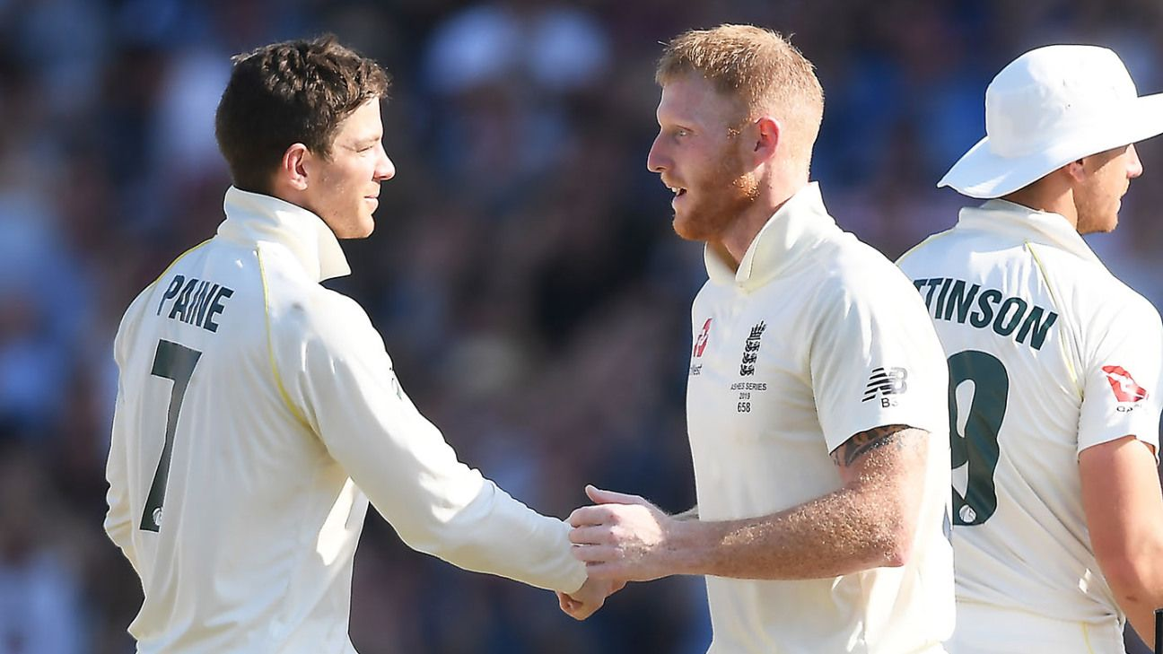 Ben Stokes using David Warner's name for book sales - Tim Paine