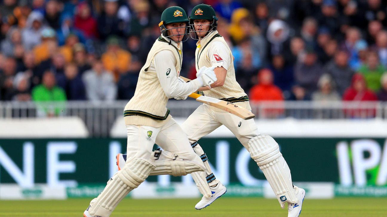 Steven Smith, Marnus Labuschagne together at last