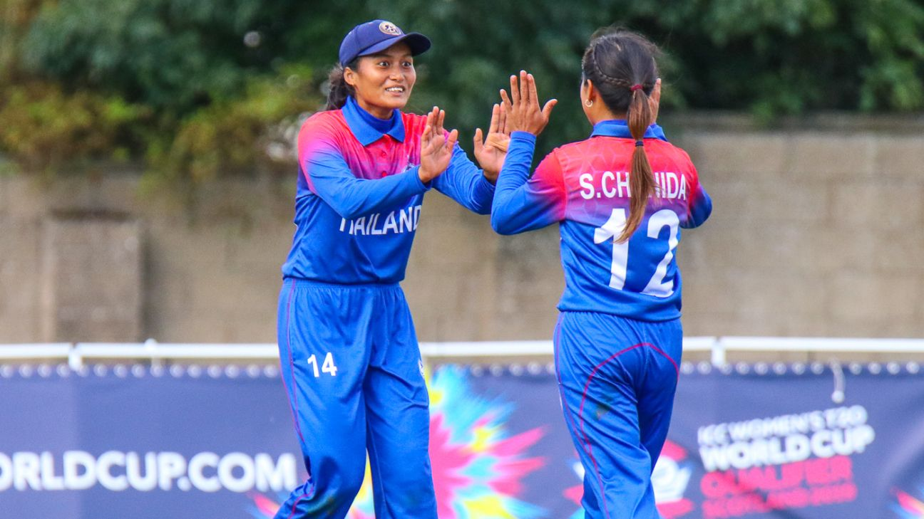 Thailand, Bangladesh qualify for 2020 Women's T20 World Cup