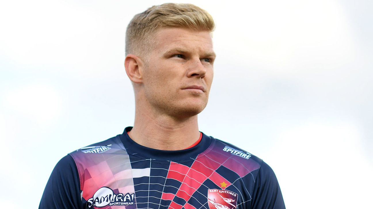 """Sam Billings takes break to """"refresh"""" after England omission"""