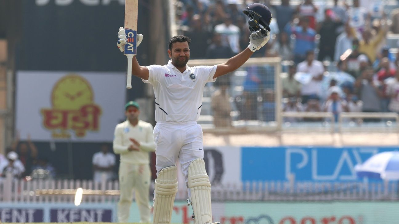 Rohit Sharma breaks into top 10 across formats