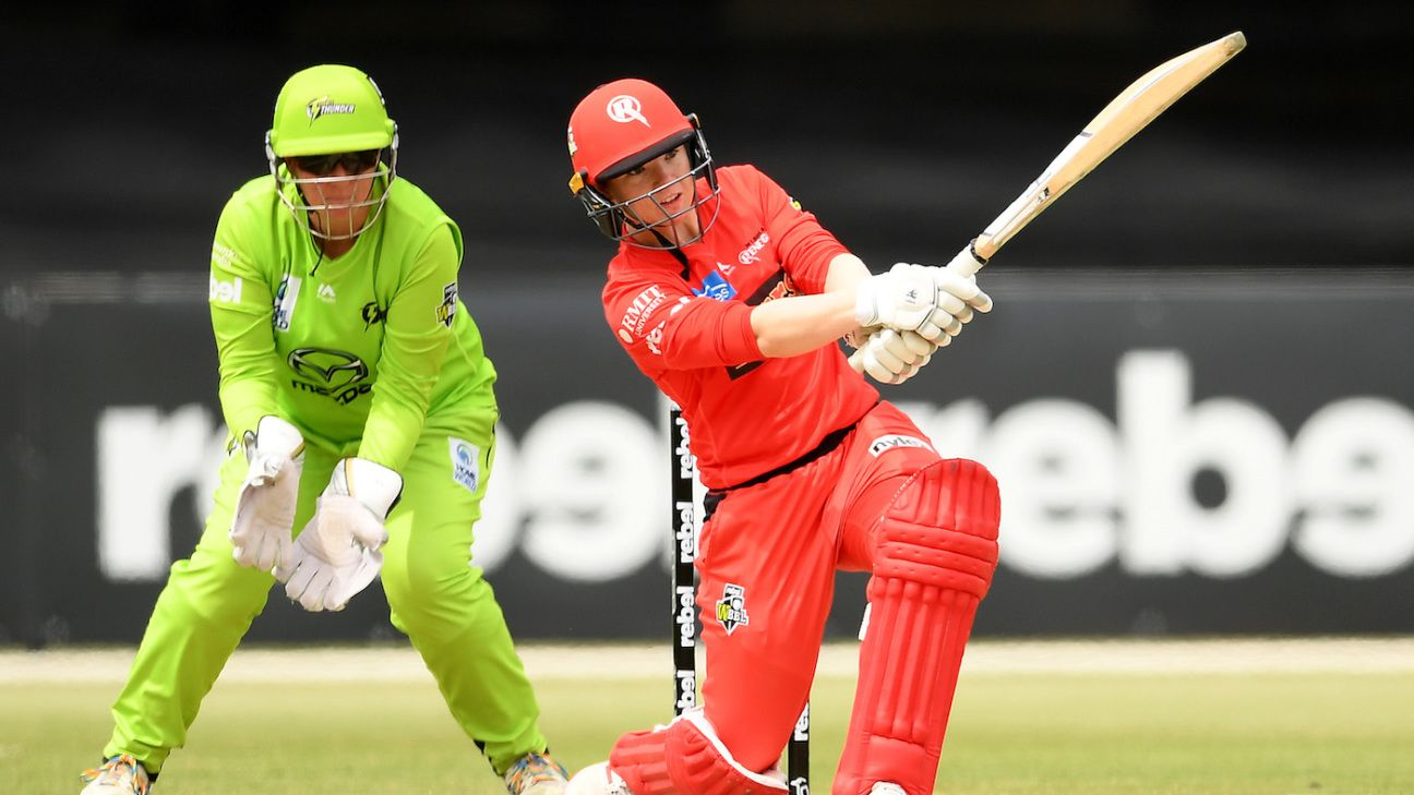 WBBL round-up: Duffin and Strano star to seal Renegades finals berth