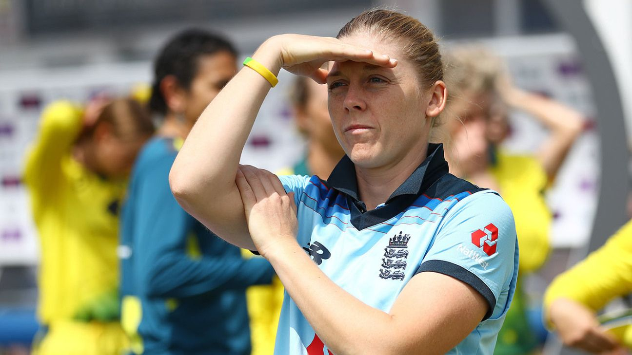 Heather Knight seeks new era as England hope to move on from Ashes drubbing