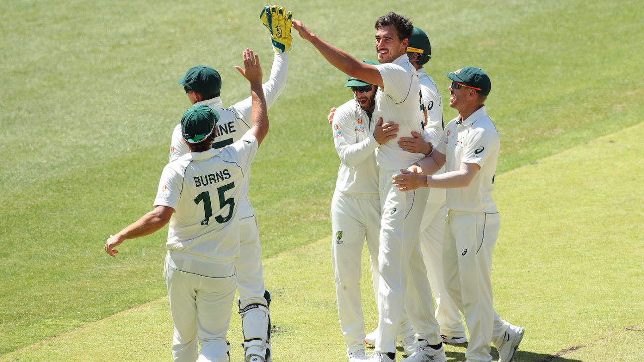 The contrasting fortunes of Mitchell Starc and Jeet Raval