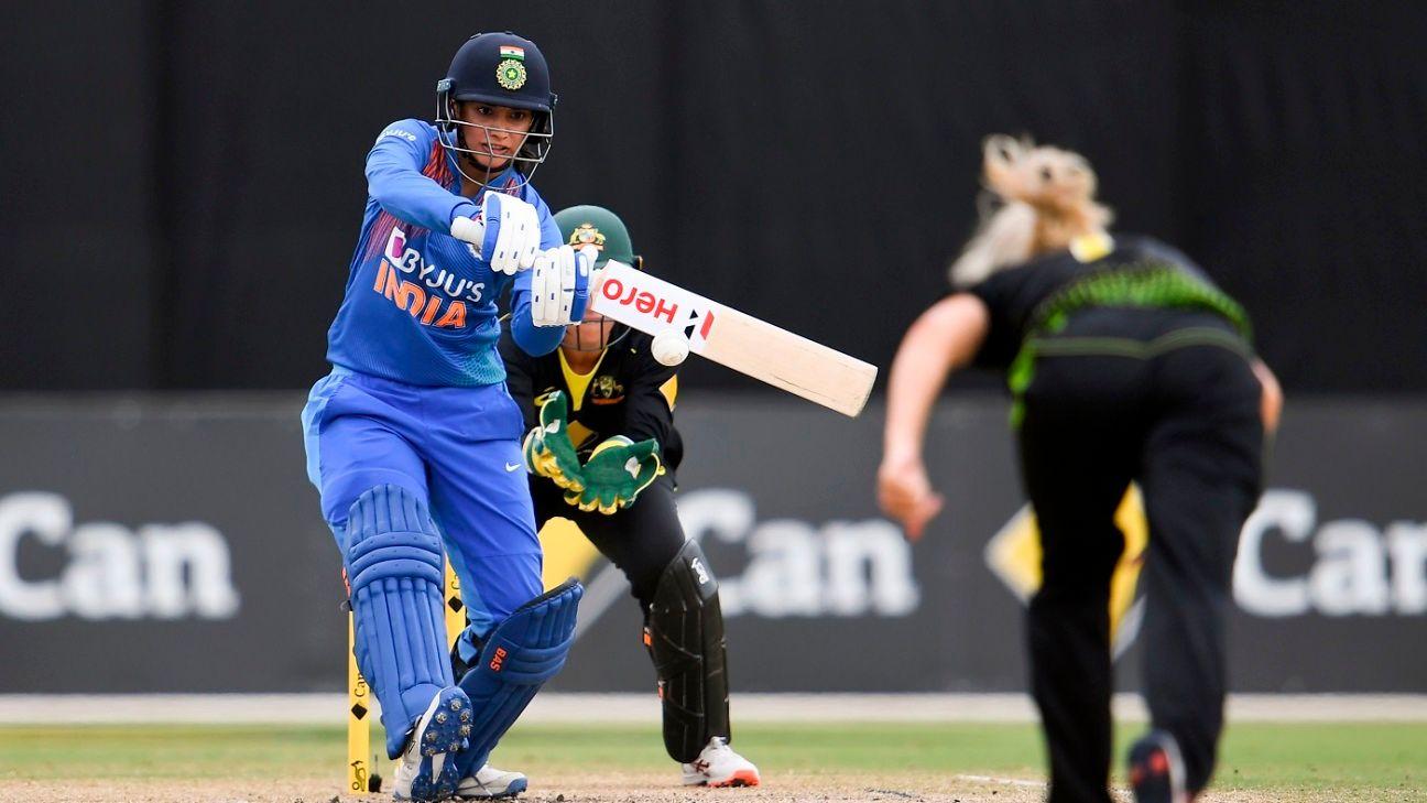 'India top order should bat 20 overs' - Smriti Mandhana