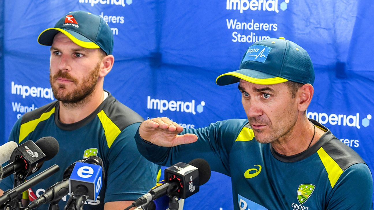 England tour 'a great dress rehearsal' for reception in South Africa - Justin Langer | ESPNcricinfo.com - ESPNcricinfo