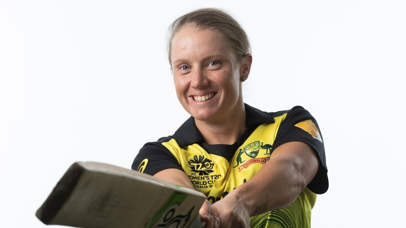 Alyssa Healy hopes for 'a little bit of luck' to end run of low scores