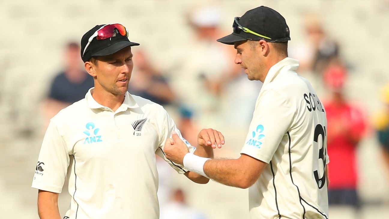 Trent Boult and Tim Southee - among the great new-ball pairs in Test cricket