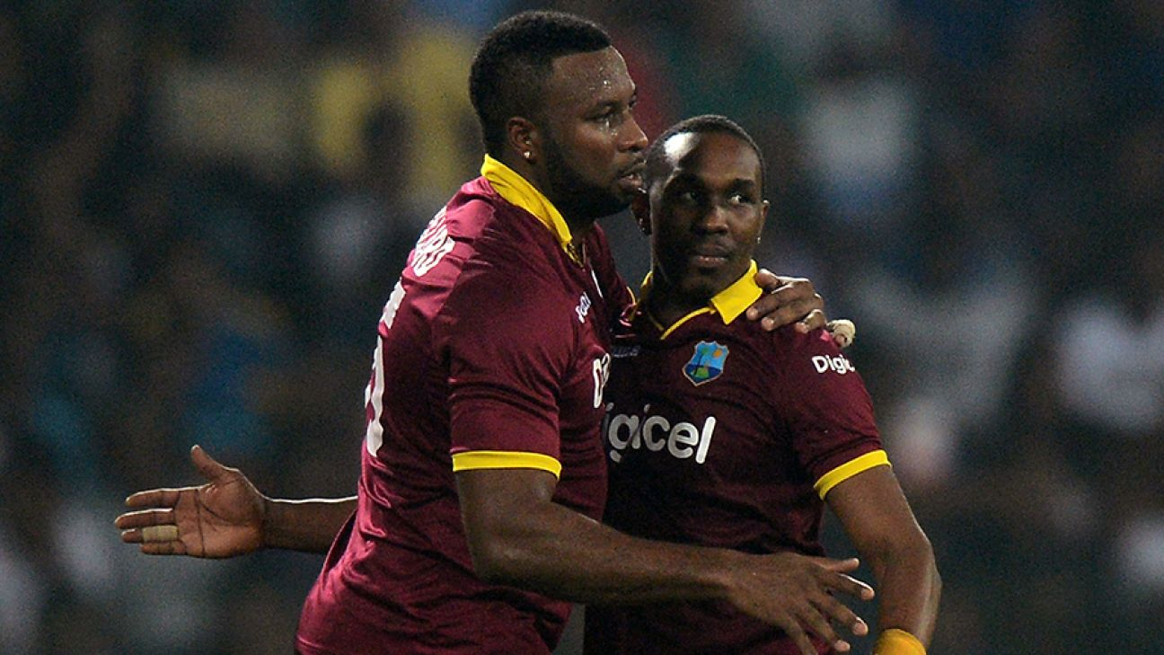 Dwayne Bravo, Kieron Pollard named among West Indies' World Cup reserves