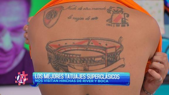 Los Mejores Tatuajes De Boca Y River Espn Video