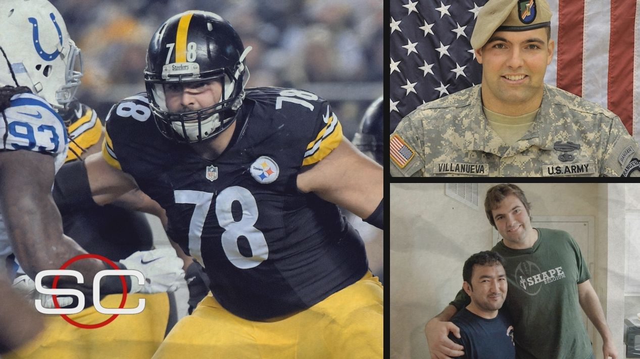 f314c3753 SC Featured  An NFL player and the bond he formed on the battlefield ...