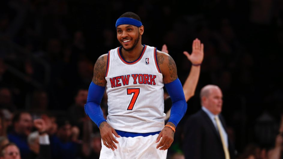 Where Melo found his 'happy place' during a summer of Knicks drama