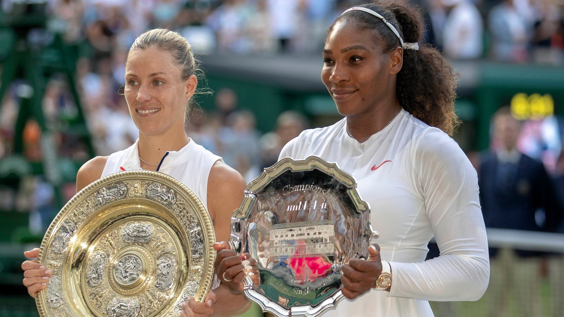 Angelique Kerber wins Wimbledon, keeps Serena Williams from tying all-time mark