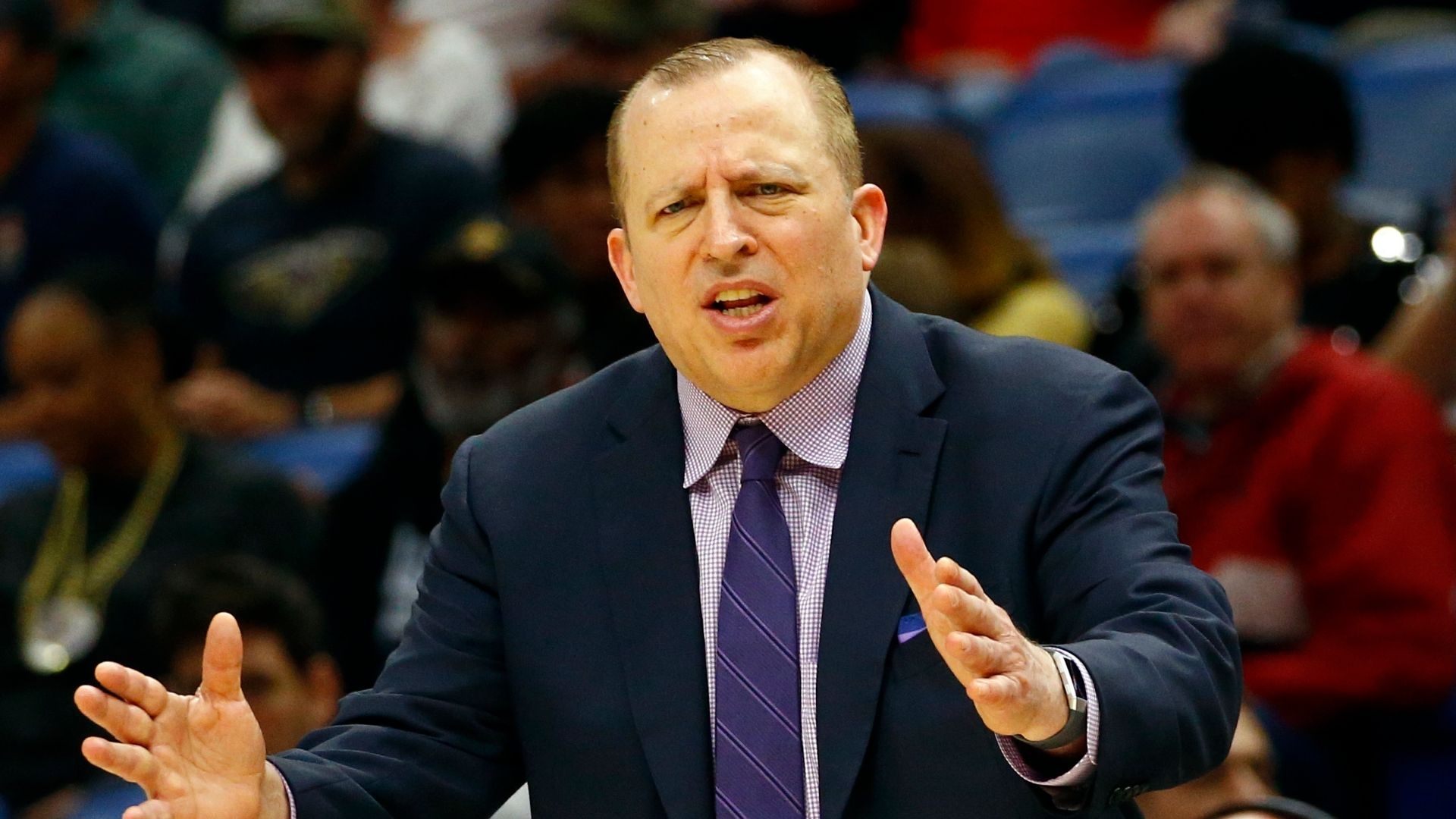 Minnesota Timberwolves fire coach and team president Tom Thibodeau