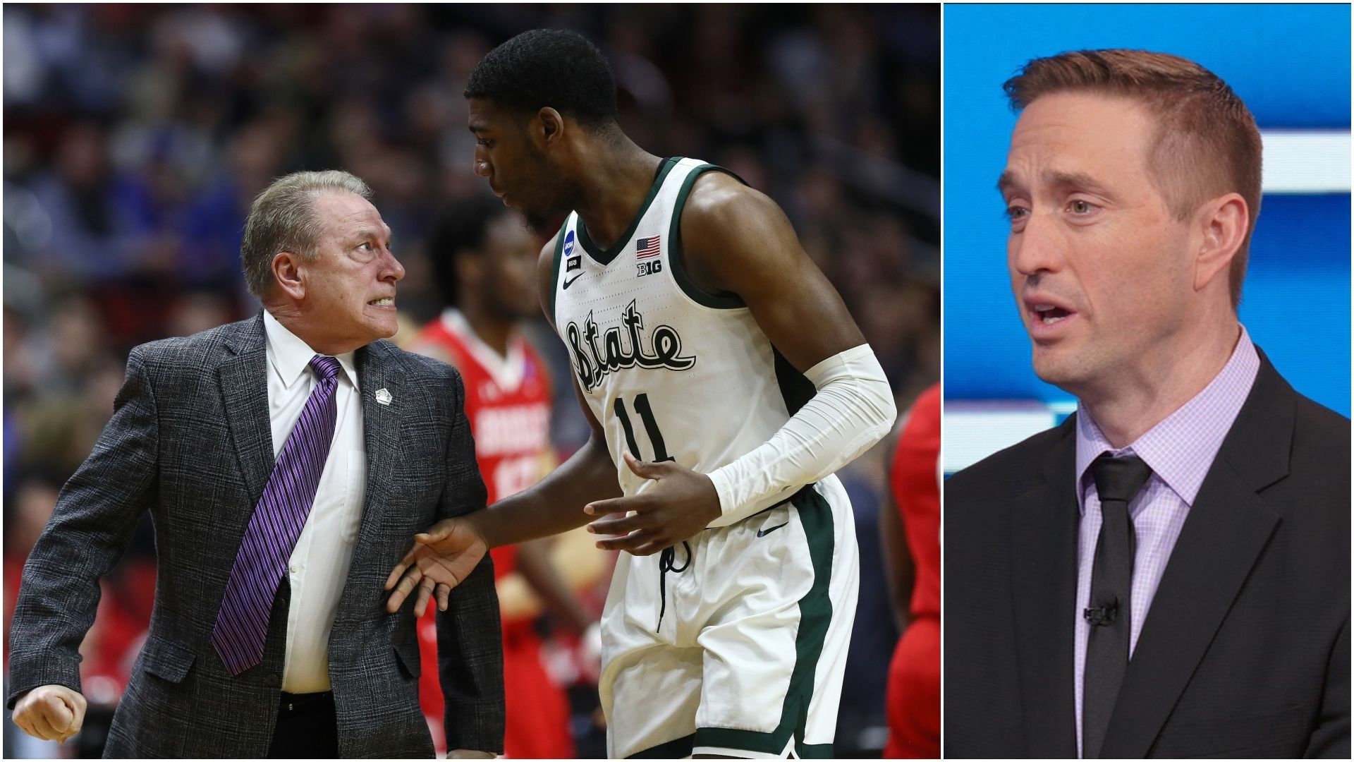 MSU's Izzo doesn't apologize for yelling at Henry