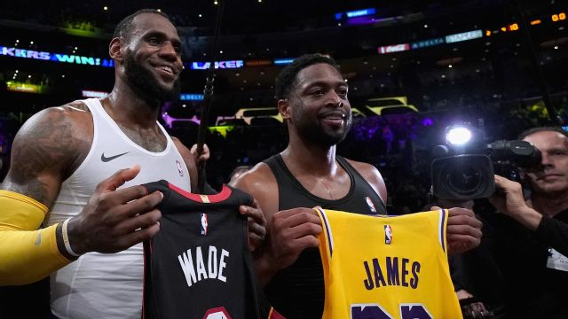new arrival ad05e 35ed4 Dwyane Wade's jersey swap collection is already hilariously ...