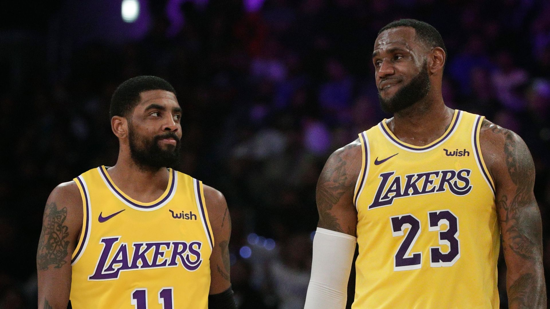b3c7e73854e Should Kyrie reunite with LeBron on the Lakers? - ESPN Video