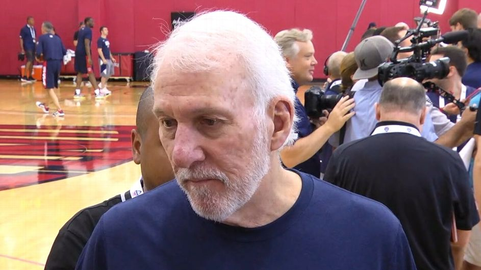 What is Gregg Popovich doing coaching Team USA?