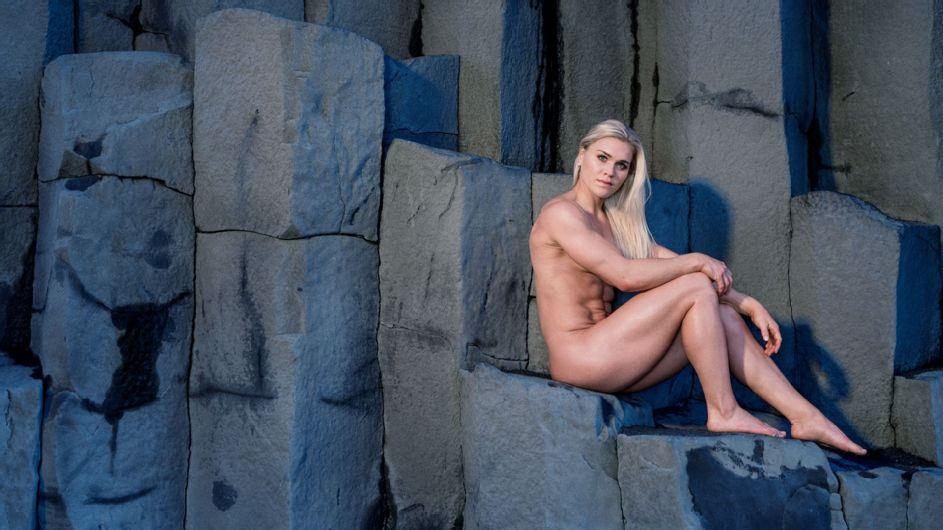 CrossFitter Katrin Davidsdottir embodies the legendary Icelandic warrior