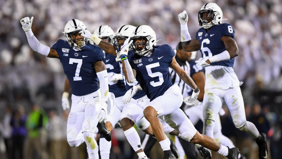 Penn State's Sean Clifford and KJ Hamler are livin' the dream