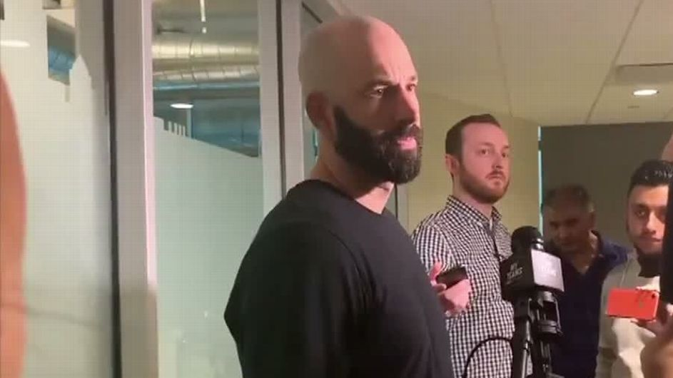 Athletics' Mike Fiers declines to discuss whistleblower role