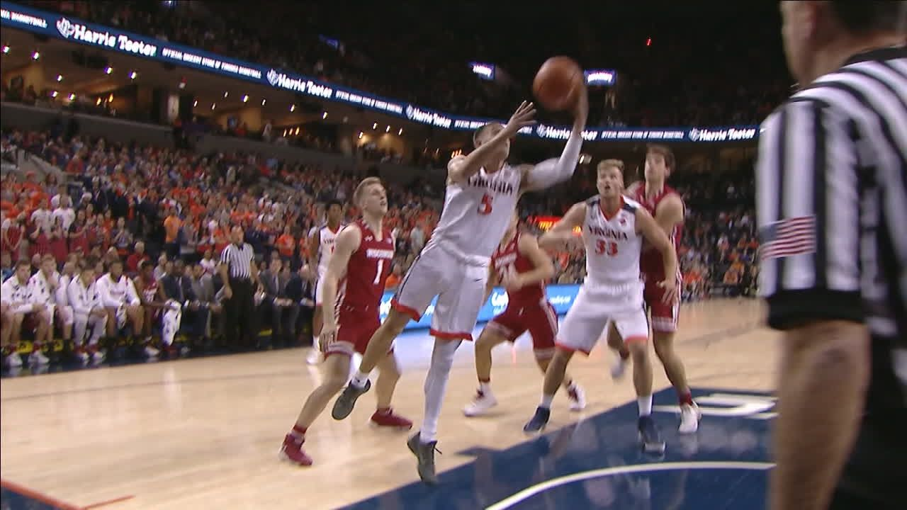 Virginia's Guy gets to the rim with nifty move - ESPN Video