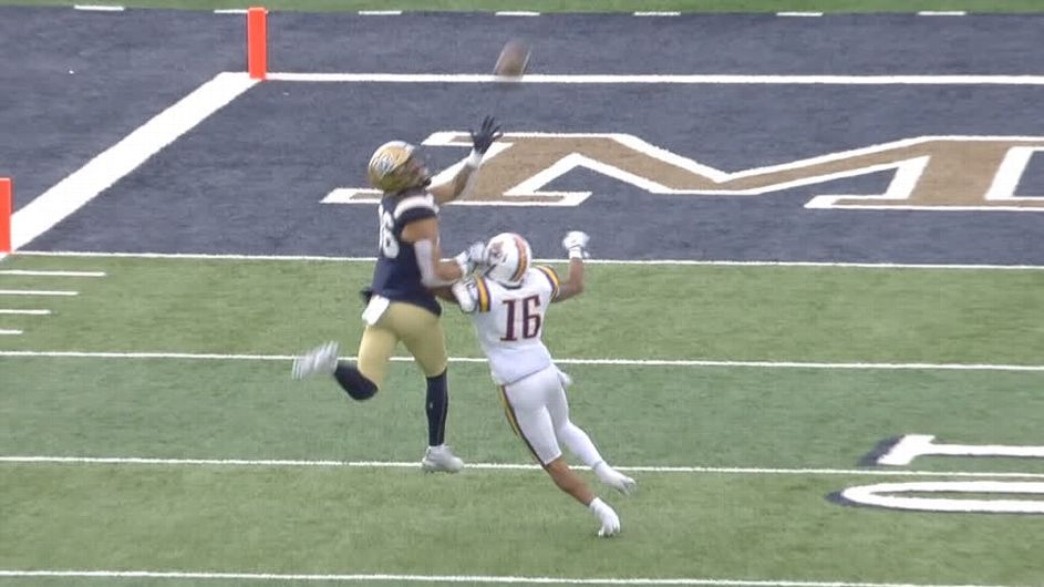 McCutcheon reels in one-handed catch for TD - ESPN Video